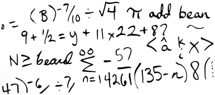 Calculadoras: para que errar sea cosa solo de sabios.