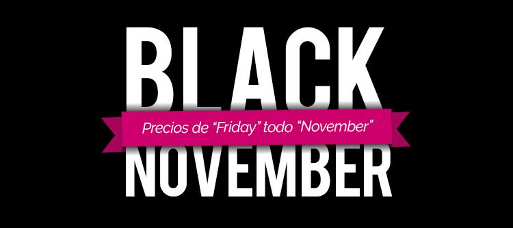Visanta llena de superofertas todo el mes de noviembre por el Black Friday
